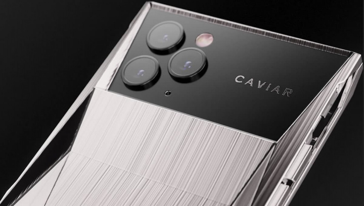 Imagem iPhone 11 Pro da Caviar foi inspirado no SUV Cybertruck da Tesla