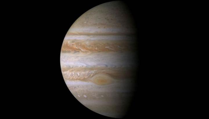 Imagem de Júpiter, o escudo da Terra contra os asteroides e cometas