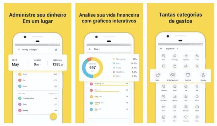 Money Manager, Expense Tracker - app de gestão de dinheiro