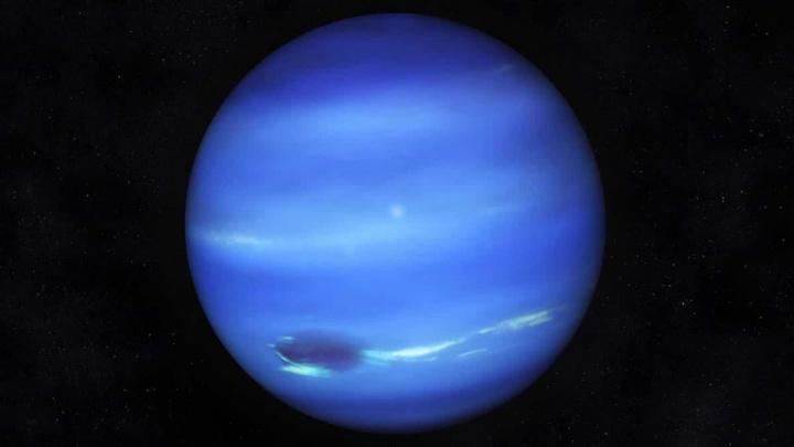 Imagem de Neptuno, ums dos 4 planetas neptunos frio que se conhecem