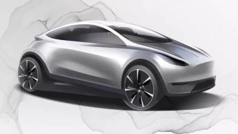 Tesla acessível automóvel China design