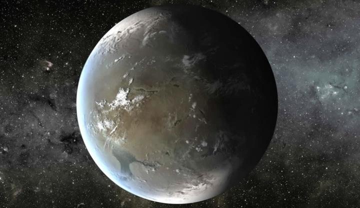 Ilustração de Terra 2.0 de onde poderão vir os alienígenas humanos