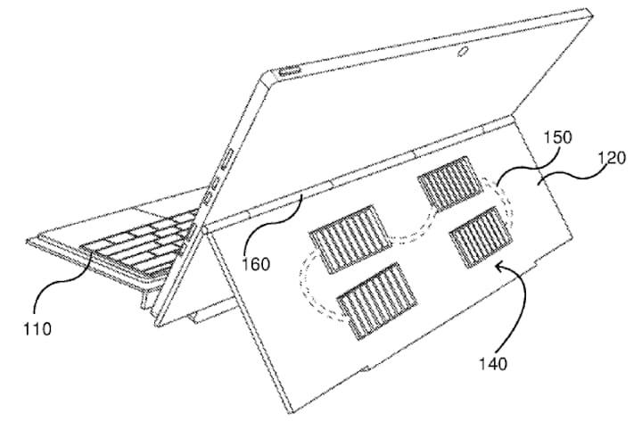patente Kickstand