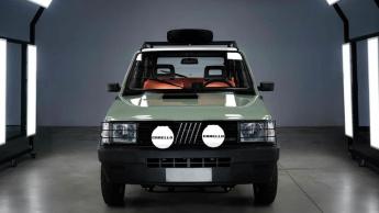 Imagem Fiat Panda 4x4 elétrico
