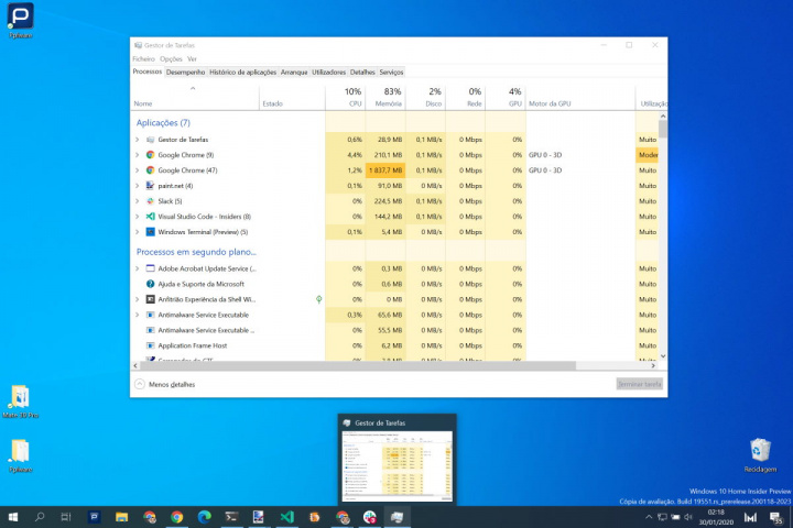 Windows 10 atalhos teclado Microsoft rato