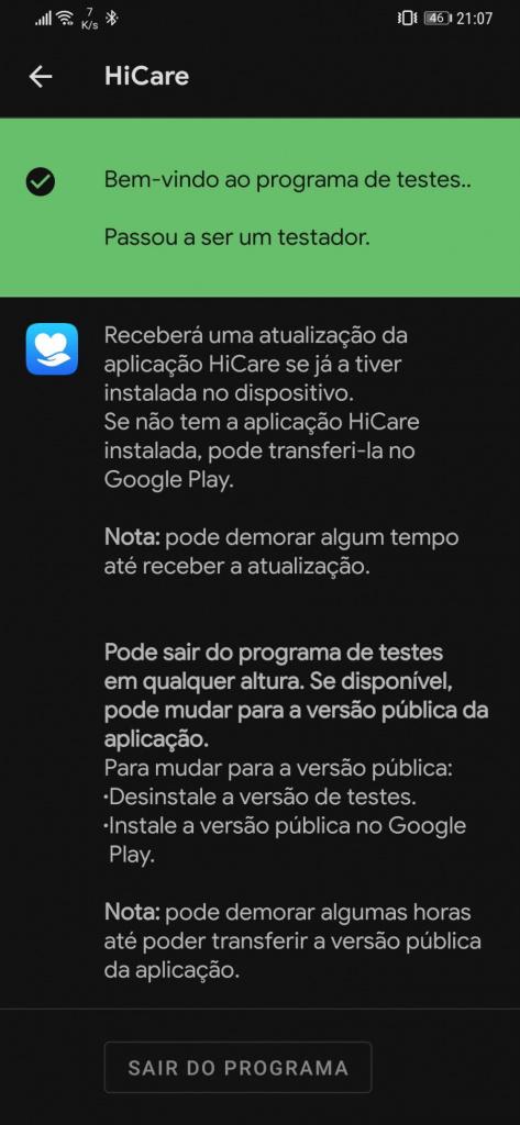 Android apps beta maniac testes