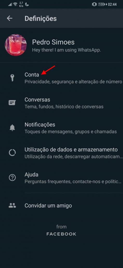 WhatsApp invisível desaparecer serviço mensagens