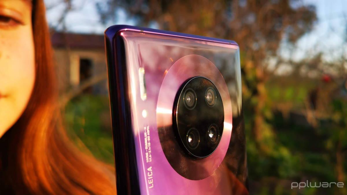 Huawei patents a circular screen around the rear camera module