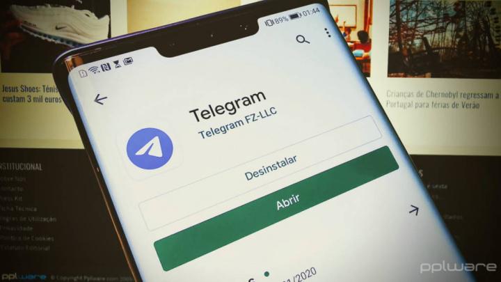 Telegram segurança bloqueio senha Android