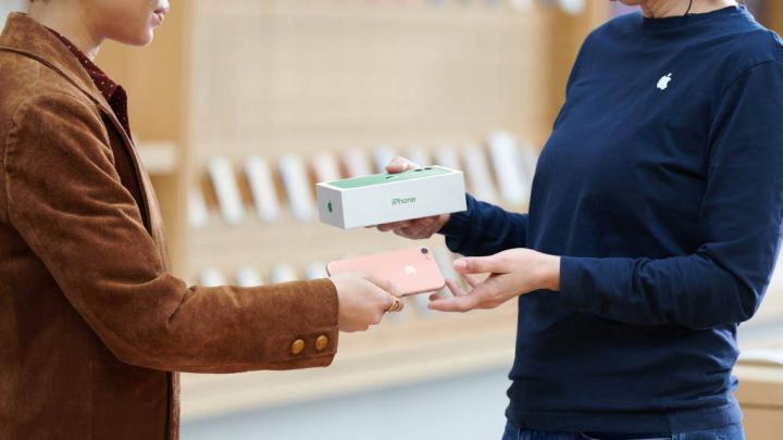 Apple iPhone valor retoma equipamentos