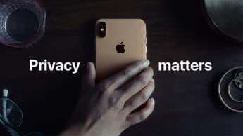 apple publicita: privacidade importa