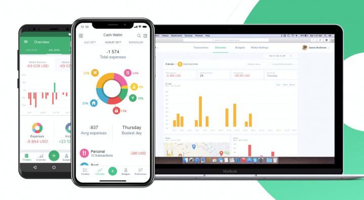 Spendee - app de gestão orçamental e dinheiro