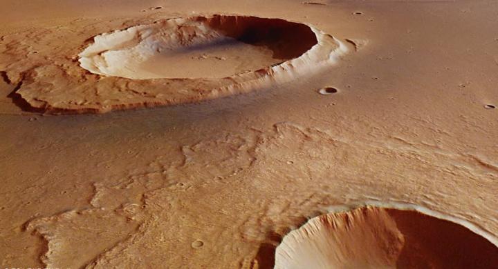 Imagem dosolo de Marte que Elon Musk quer colonizar