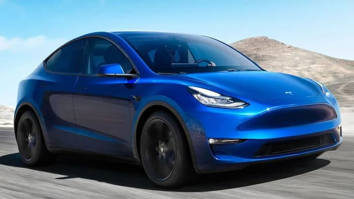 Imagem do carro elétrico Tesla Model Y