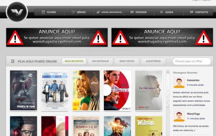 Portugal: Técnico informático vai a tribunal por partilhar filmes na internet