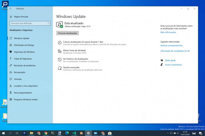 Windows 10 atualização Microsoft instalação problema