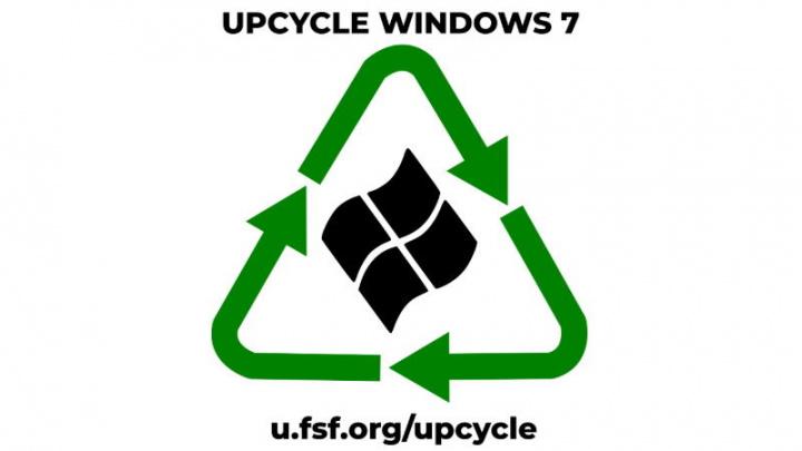 Windows 7 Microsoft Free Software Foundation Open-Source código
