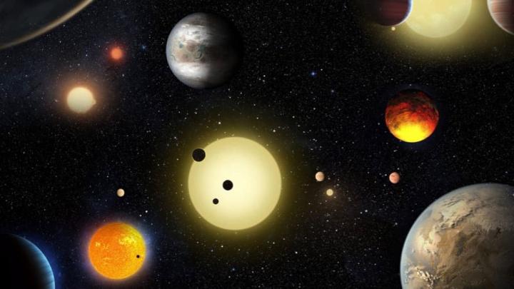 Imagem planetas encontrados por estudante de astronomia