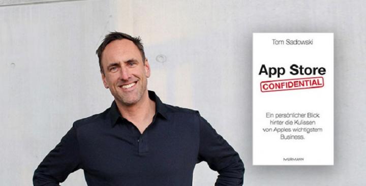 """Tom Sadowski, ex-funcionário da Apple e autor do livro """"App Store Confidential""""."""