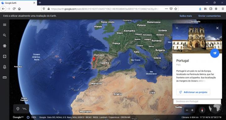 Google Earth no Mozilla Firefox