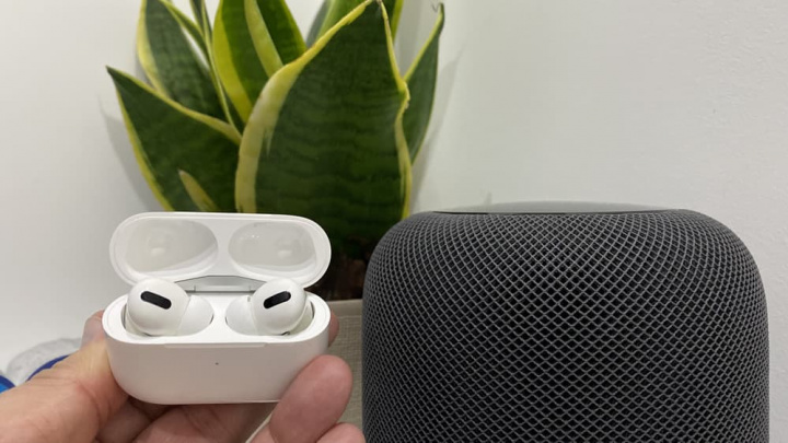 Image HomePod and AirPods Pro