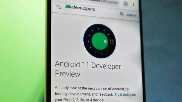 Android 11 Google smartphones toque traseira