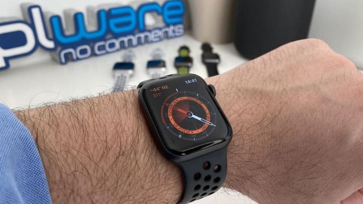 Imagem Apple Watch com apps