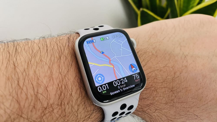 Imagem da app para Apple Watch da Apple