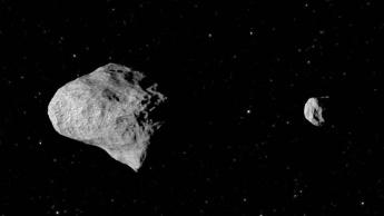 Imagem de asteroide binários descoberto pela NASA