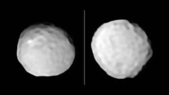 imagem asteroide bola de golfe