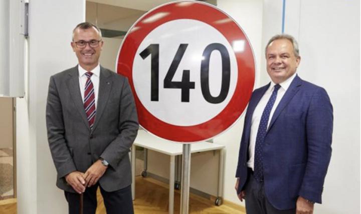 Áustria: Limite de velocidade de 140 km/h vai acabar