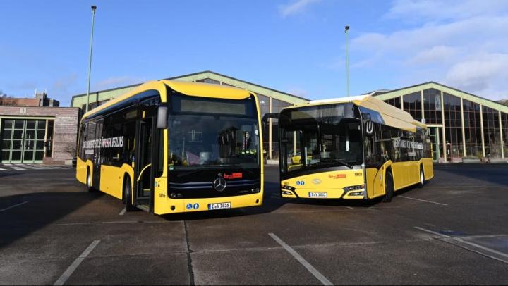 Alemanha: Investimento de 650 milhões em autocarros elétricos