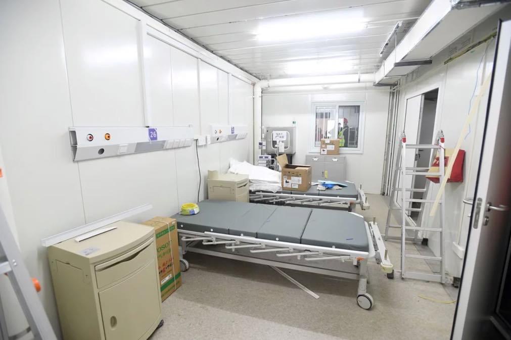 "Coronavírus: Hospital ""relâmpago"" abre já amanhã"