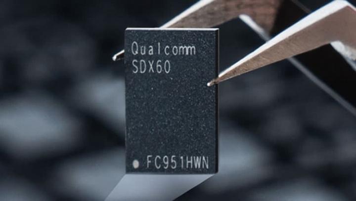 Imagem Modem Qualcomm 5G que poderá equipar o iPhone 2021