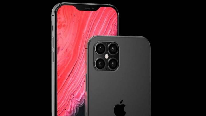 Imagem de ilustração do iPhone 2021 com 5G da Qualcomm
