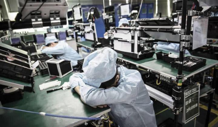 Imagem fábricas paradas por causa do coronavírus