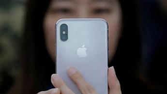 Imagem smartphone Apple vendido na China