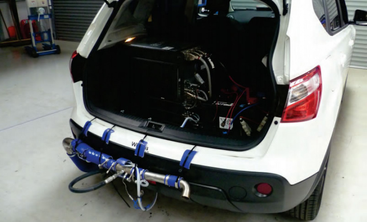 Innovative system uses hydrogen to reduce NOx emissions