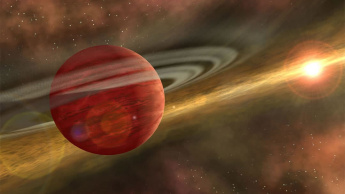 Imagem ilustração planeta bebé