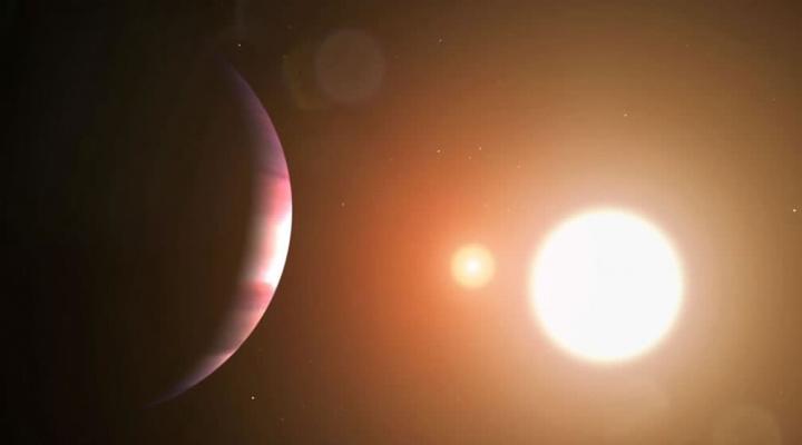 Imagem exoplaneta em formação