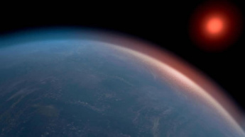 Imagem planeta maior que a terra e menos que Neptuno