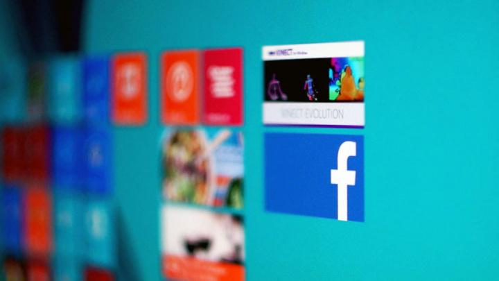 Facebook app Windows 10 utilizadores browser