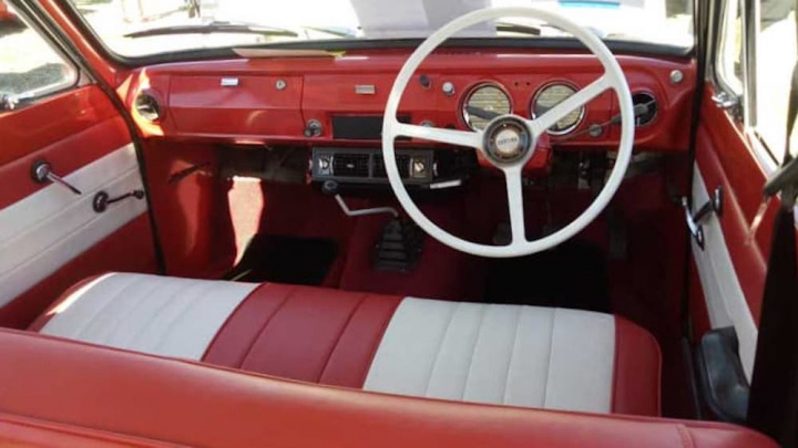 Imagem de Ford Cortina com motor elétrico