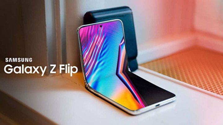 Galaxy Z Flip Samsung vídeo smartphone
