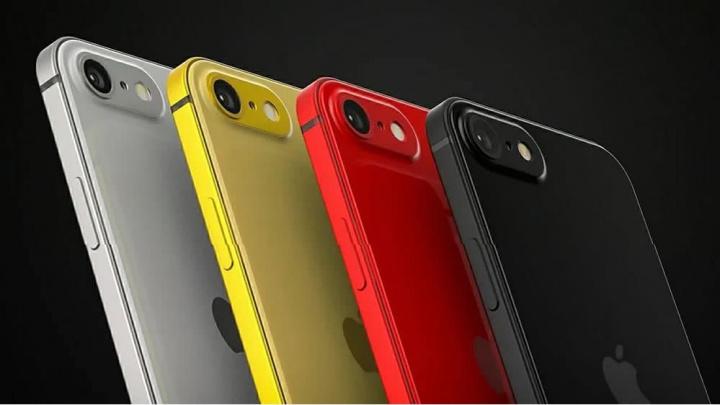 Imagem de conceito do quye poderá ser o iPhone SE 2020