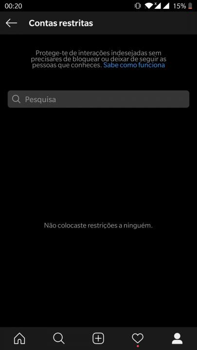 contas restritas instagram 2