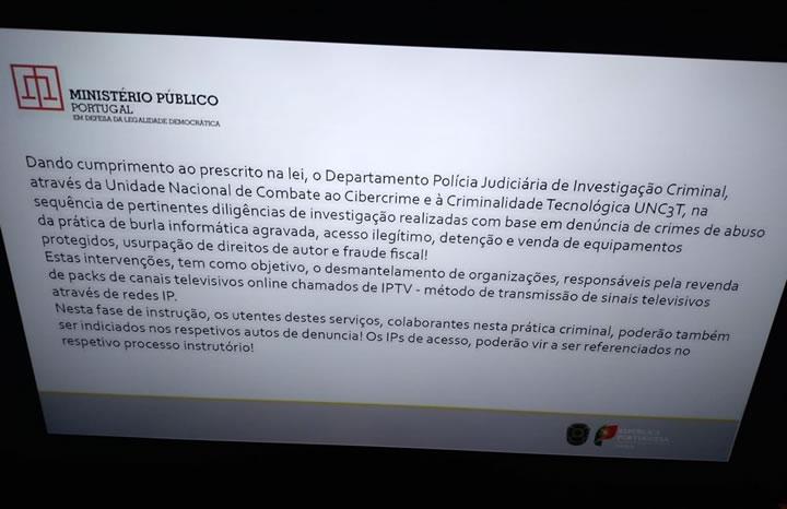 Ministério Público anda à