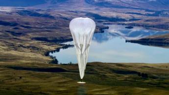 Imagem Loon, o balão que distribui internet