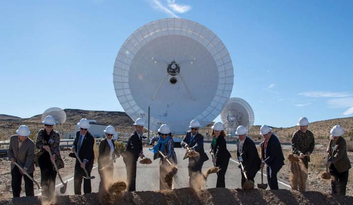Imagem inauguração da nova fase de comunicações a lasers