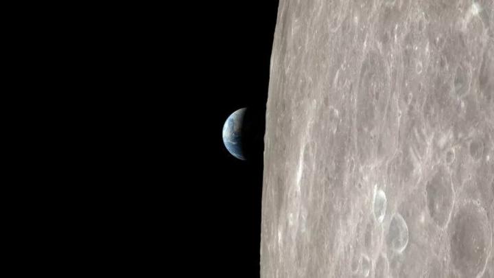 Imagem da Lua pelos olhos da Apollo 13 da NASA